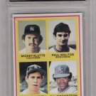 1978 TOPPS PAUL MOLITOR/ALAN TRAMMEL ROOKIE CARD GRADED FGS 10!