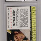1961 POST CEREAL SHERMAN LOLLAR WHITE SOX CARD GRADED FGS 9.5!
