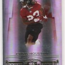 2007 DONRUSS THREADS CHRIS HOUSTON FALCONS ROOKIE CARD