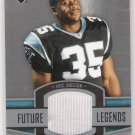 2005 UPPDER DECK ERIC SHELTON PANTHERS FUTURE LEGENDS JERSEY CARD