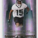 2007 DONRUSS THREADS JOHN BROUSSARD JAGUARS ROOKIE CARD #'D 965/999!