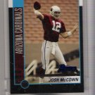 2002 BOWMAN JOSH MCCOWN CARDINALS UNCIRCULATED ROOKIE CARD