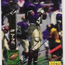 1994 SIGNATURE ROOKIE JOHN THIERRY AUTOGRPAHED CARD