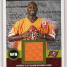 2006 TOPPS HERITAGE MAURICE STOVALL BUCCANEERS ROOKIE JERSEY CARD