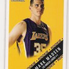 2000-01 FLEER TRADITION MARK MADSEN LAKERS ROOKIE CARD