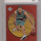 1998-99 UPPER DECK OVATION MIKE BIBBY ROOKIE CARD GRADED BCCG 10!