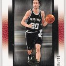 2005-06 UPPER DECK ULTIMATE COLLECTION MANU GINOBILI SPURS LIMTED CARD #'D 105/750!