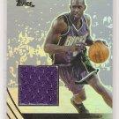 2003-04 TOPPS TIM THOMAS BUCKS JE GAME USED JERSEY CARD