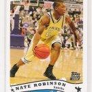 2005-06 TOPPS NATE ROBINSON KNICKS ROOKIE CARD