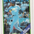 1988 TOPPS BO JACKSON ROYALS CARD