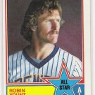 1983 TOPPS ALL STAR ROBIN YOUNT BREWERS CARD