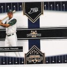 2005 DONRUSS CHAMPIONS DELMON YOUNG RAYS IMPRESSIONS CARD