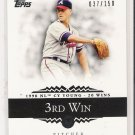 2007 TOPPS MOMENTS & MILESTONES TOM GLAVINE CARD #'D 037/150!