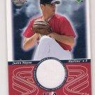 2002 UPPER DECK SWEET SPOT JUSTIN WAYNE MARLINS USA JERSEY CARD