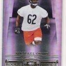 2007 DONRUSS THREADS MICHAEL OKWO BEARS ROOKIE CARD #'D 847/999!