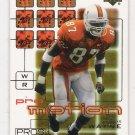 2001 UPPER DECK PROS & PROSPECTS REGGIE WAYNE PRO MOTION INSERT CARD