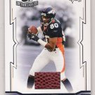 2005 DONRUSS THROWBACK THREADS ROD SMITH BRONCOS BALL CARD SERIAL #'D 142/275!