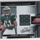 2006 PLAYOFF ABSOLUTE JASON AVANT EAGLES ROOKIE JERSEY CARD