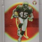 2002 TOPPS PRISTINE T.J. DUCKETT FALCONS UNCIRCULATED REFRACTOR CARD