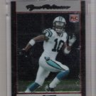 2007 BOWMAN CHROME RYNE ROBINSON PANTHERS UNCIRCULATED ROOKIE CARD