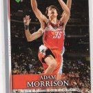2007-08 UPPER DECK FIRST EDITION ADAM MORRISON BOBCATS CARD