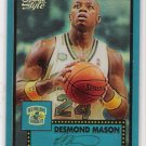 2005-06 TOPS STYLE DESMOND MASON HORNETS BLUE CHROME REFRACTOR #'D 123/149!