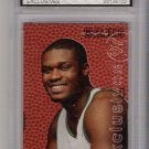 1996-97 UPPER DECK ANTOINE WALKER ROOKIE EXCLUSIVES INSERT GRADED FGS 10!