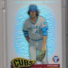 2005 TOPPS PRISTINE LEGENDS BRUCE SUTTER UNCIRCULATED REFRACTOR #'D 165/549!
