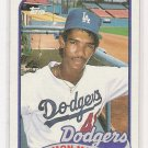1989 TOPPS RAMON MARTINEZ DODGERS ROOKIE CARD