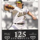 2007 TOPPS MOMENTS & MILESTONES BARRY ZITO ATHLETICS CARD #'D 080/150!