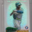2005 TOPPS PRISTINE LEGENDS HAROLD REYNOLDS MARINERS UNCIRCULATED REFRACTOR #'D 159/549!