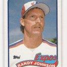 1989 TOPPS RANDY JOHNSON ROOKIE CARD