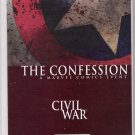THE CONFESSION #1 CIVIL WAR SOLD OUT FIRST PRINT-NEVER READ!