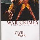 WAR CRIMES CIVIL WAR TPB-NEVER READ!