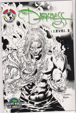 DARKNESS LEVEL 2 WIZARD WORLD SKETCH VARIANT RARE-NEVER READ!