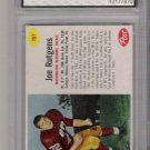 1962 POST JOE RUTGENS REDSKINS CARD GRADED FGS 9!