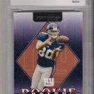 2002 DONRUSS JEREMY SHOCKEY ROOKIE CARD GRADED BCCG10!