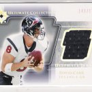 2004 UD ULTIMATE COLLECTION DAVID CARR ULTIMATE JERSEY CARD #'D 143/175!