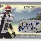 2008 SAGE ASPIRE BRUCE HOCKER HULA BOWL ROOKIE AUTOGRAPHED CARD #' 209/250!