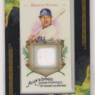 2008 TOPPS ALLEN & GINTERS' DELWYN YOUNG DODGERS PANTS CARD
