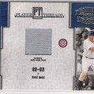 2004 DONRUSS THROWBACK THREADS HEE SEOP CHO CUBS JERSEY CARD
