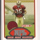 2006 TOPPS TOTAL MICHAEL ROBINSON 49'ERS ROOKIE JERSEY CARD