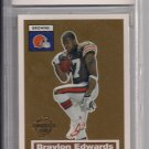 2005 TOPPS BRAYLON EDWARDS TURN BACK THE CLOCK CARD GRADED BCCG 10!