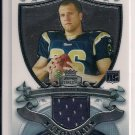 2007 BOWMAN STERLING BRIAN LEANORD RAMS ROOKIE JERSEY CARD