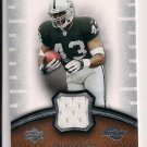 2007 UD SWEET SPOT MICHAEL BUSH RAIDERS JERSEY CARD