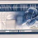 2006 PLAYOFF PRESTIGE WARRICK DUNN STARS OF THE NFL GU JERSEY CARD