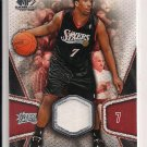 2007-08 UD SP ANDRE MILLER SIXERS JERSEY CARD