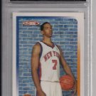 2005 TOPPS TOTAL CHANNING FRYE KNICKS ROOKIE CARD GRADED FGS 10!