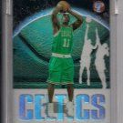 2003-04 TOPPS PRISTINE MARCUS BANKS CELTICS UNCIRCULATED ROOKIE REFRACTOR CARD #'D 1902/1999!