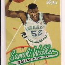 1996-97 FLEER ULTRA SAMAKI WALKER MAVERICKS ROOKIE CARD